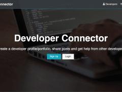 Full stack app - Dev connector