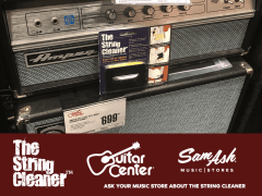 Look For The String Cleaner At Your Music Retailer