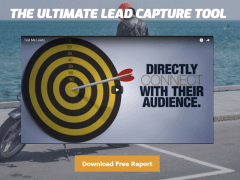 High-converting video landing page