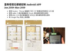 靈骨塔塔位燈號控制 Android APP