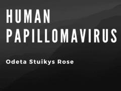 Human Papillomavirus | Odeta Stuikys Rose