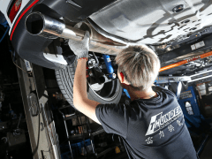 OEM Exhaust Pipe vs Modified Exhaust Pipe