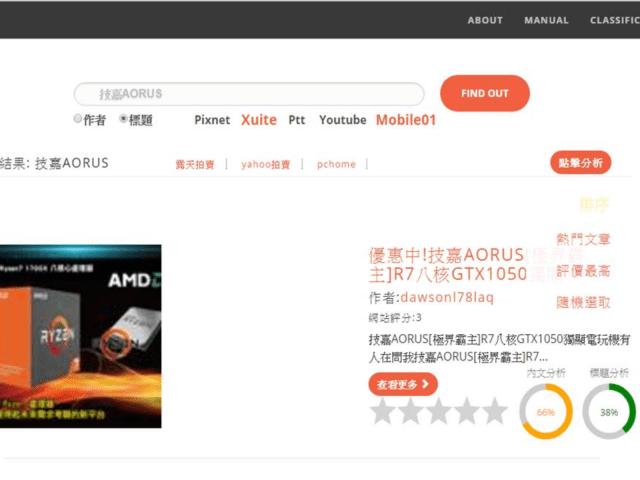 MR.中鑒者-多重部落格搜尋、業配文鑑定網站