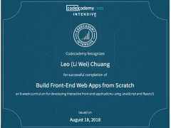 (Credential) Build Front-End Web Apps from Scratch