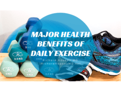 Major Health Benefits of Daily Exercise