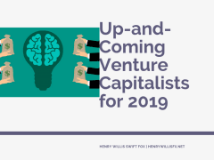 Up-and-Coming Venture Capitalists for 2019