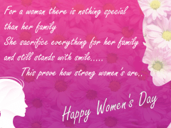 Happy Women's Day | Odeta Rose