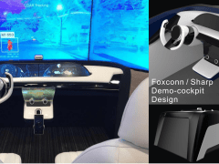 Foxconn / Sharp  Demo-Cockpit Design