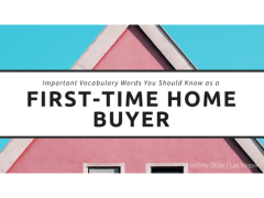 Important Vocabulary Words for Home Buyers
