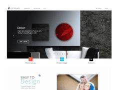 Fotosquare_無框畫製作網頁介面設計