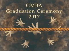 平面設計-GMBA畢業背板