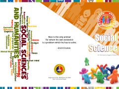 Social Science Project Brochure Design