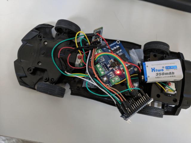 藍芽遙控車