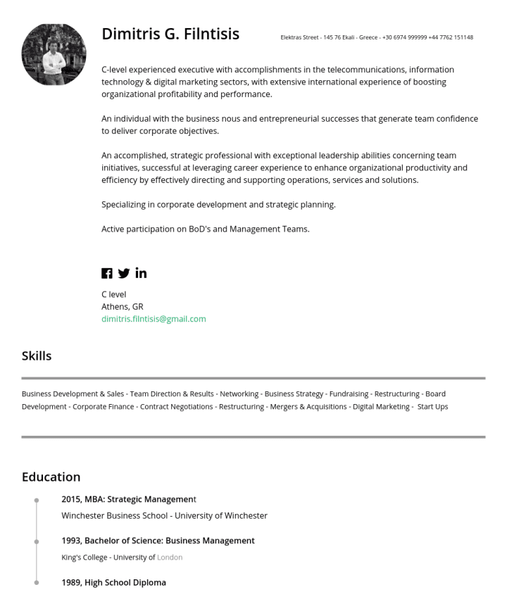 ZhiJun Yin – CakeResume Featured Resumes