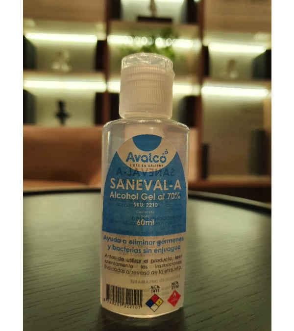 Alcohol gel, 60 ml