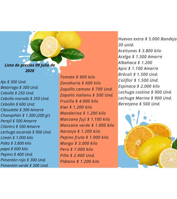 Frutas, verduras, legumbres y frutos secos