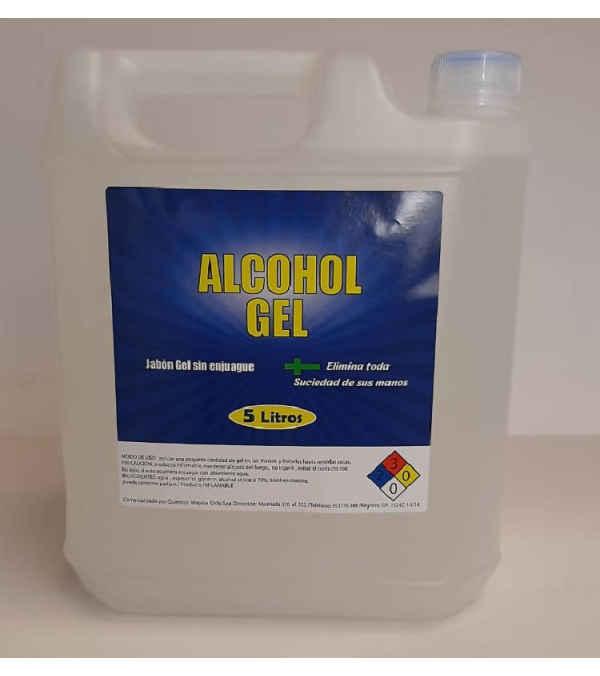 Alcohol gel bidón de 5 litros