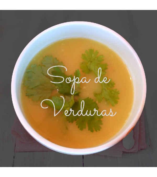 Sopa de Verduras (Enriquecida en DHA)