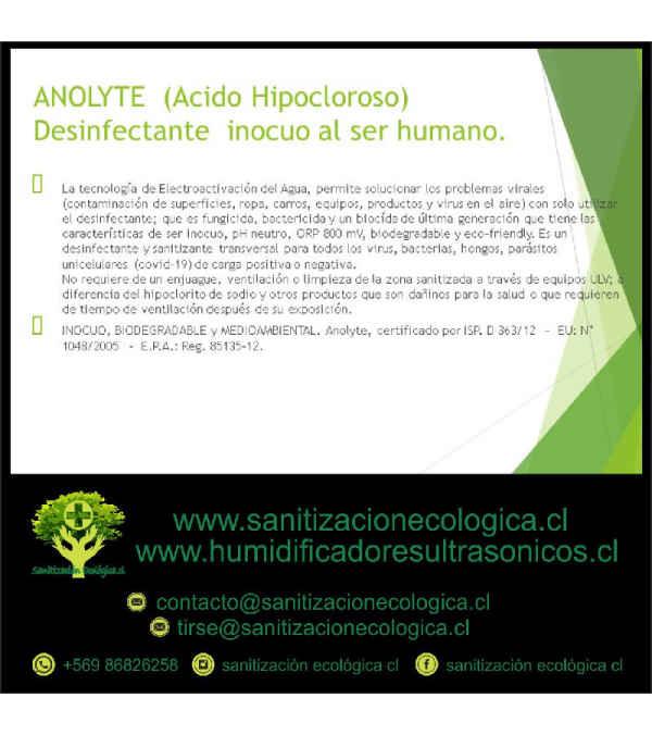 Desinfectante Anolyte