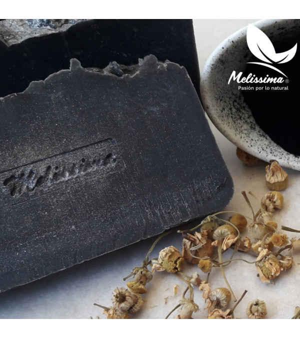 Jabón Cremoso con Carbón Activado 100 grs