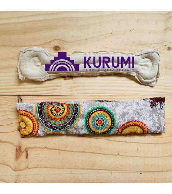 KURUMI. Cojín terapéutico de cuarzo