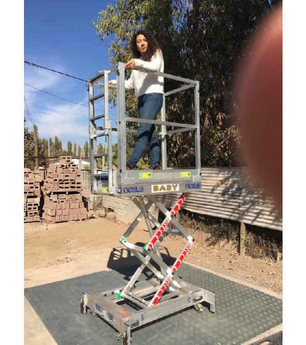 Plataforma Aluminio Baby eleva 3,65 mt