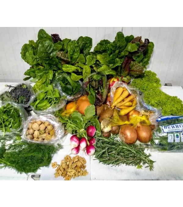 Canasta de Verduras Frescas
