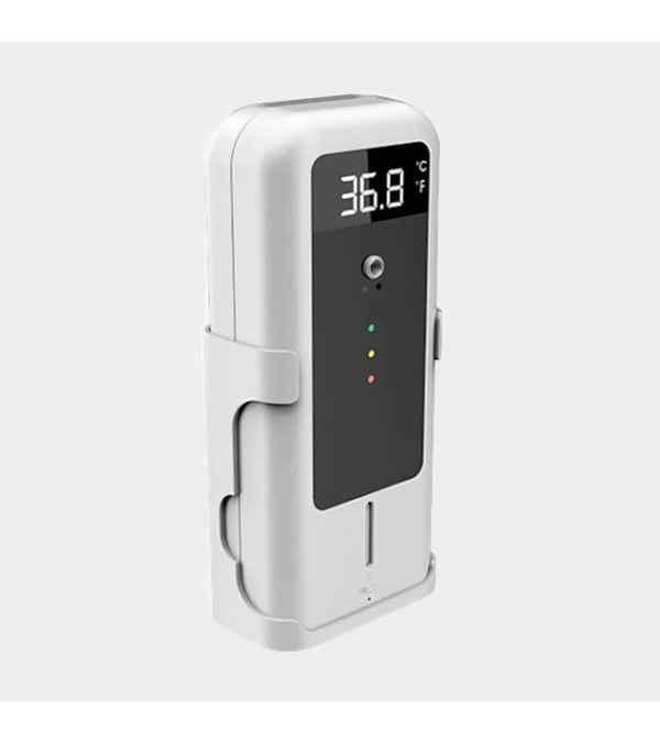 Termómetro Pared IR con Dispensador de Alcohol Gel YAD-001P