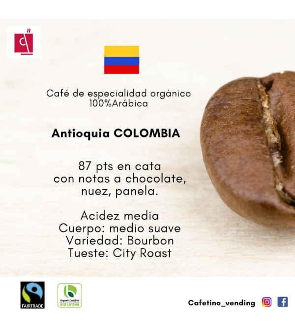 Café Antioquia Colombia Formato 800 g - Orgánico de especialidad