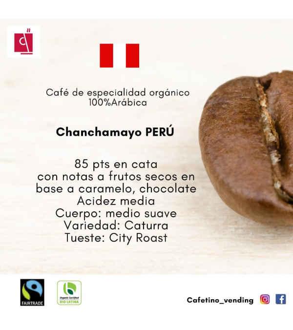 Café Chanchamayo PERÚ Formato 800 g - Orgánico de especialidad