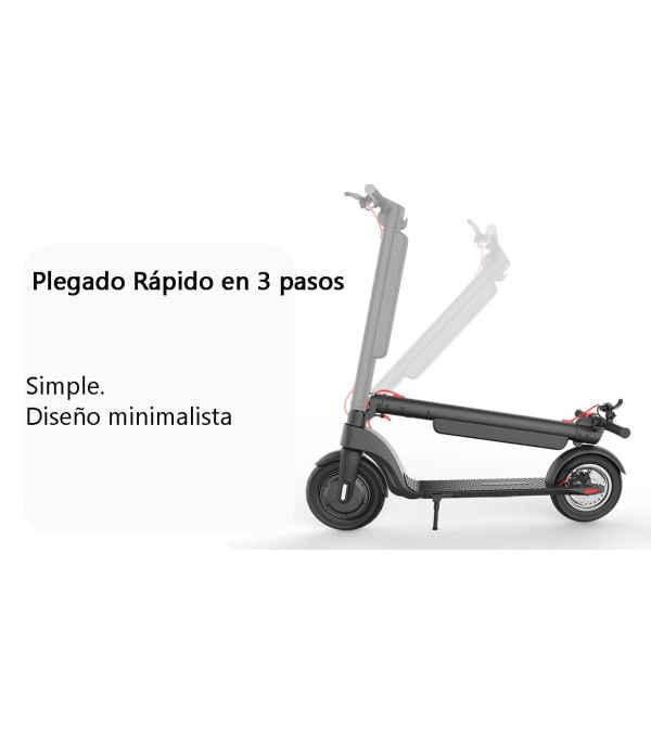 Scooter eléctrico MOBIE MSK-X8PRO con App