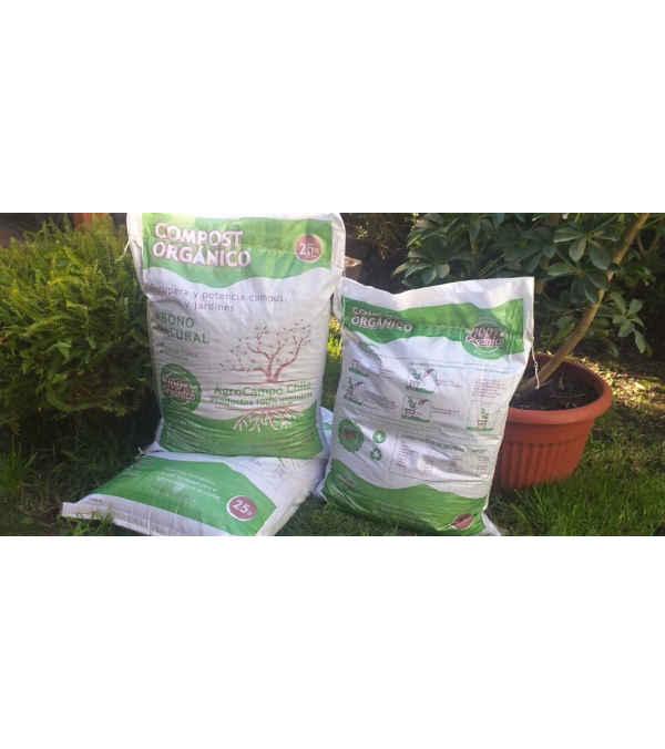 Saco de Compost 100% Orgánico