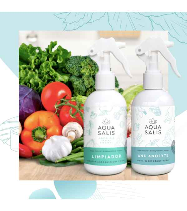 Pack AQUA SALIS Desinfección + Limpieza (Unidades Limitadas)