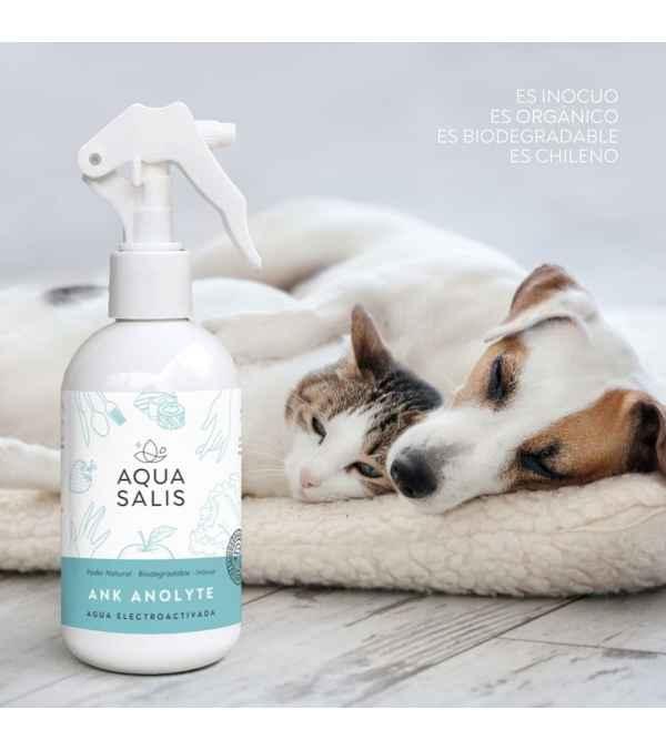 AQUA SALIS Desinfectante Pelaje, Hocico y Patitas Mascotas