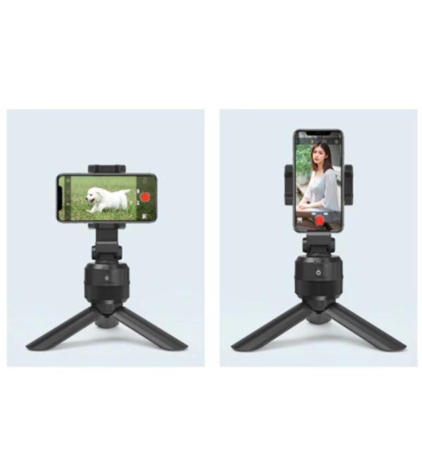 Trípode estabilizador con seguimiento inteligente 360° para grabación en celular