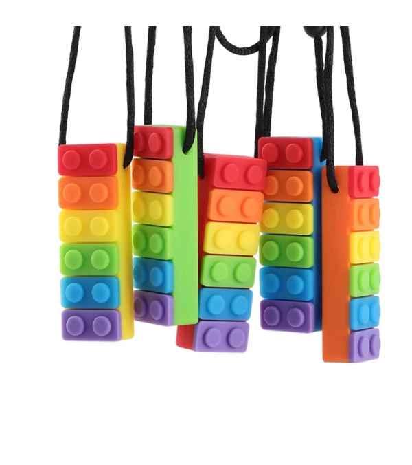 Mordedor Collar Lego