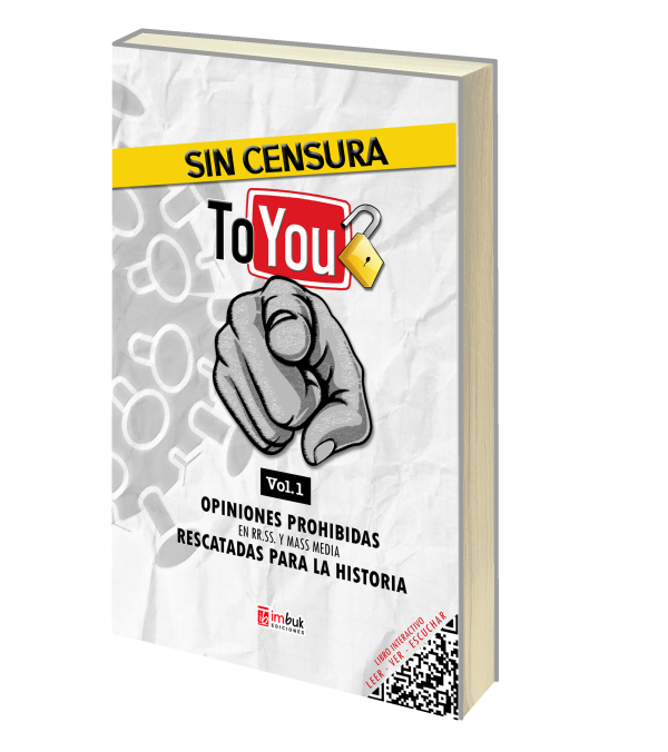 """Libro """"Sin censura to you"""""""