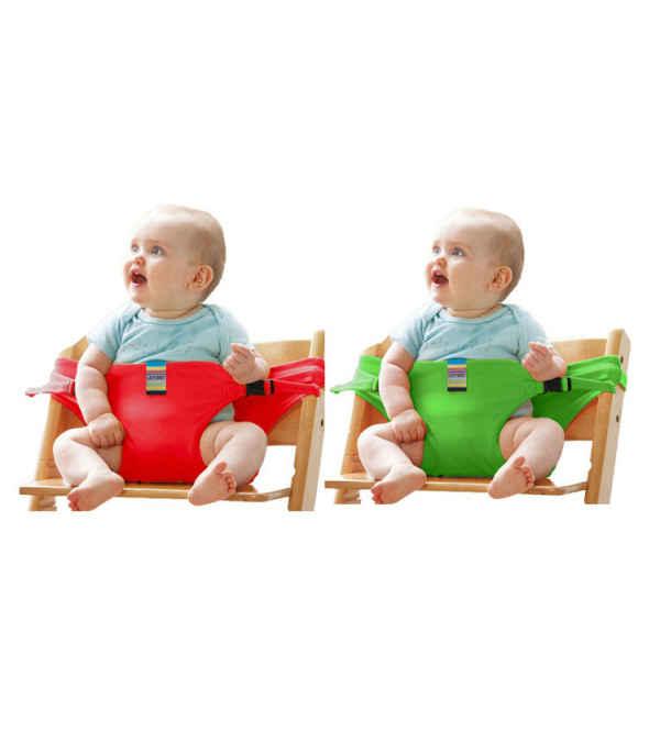 Cinturón De Comedor Portátil Para Bebé Niños Asiento