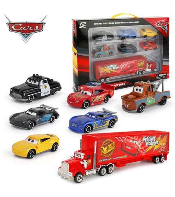 Conjunto de Disney coche de Pixar 3 Rayo McQueen