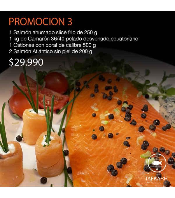 Promoción de Marisco Premium 3