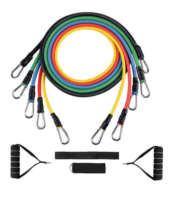 Cuerdas bandas Elásticas de resistencia para ejercicios