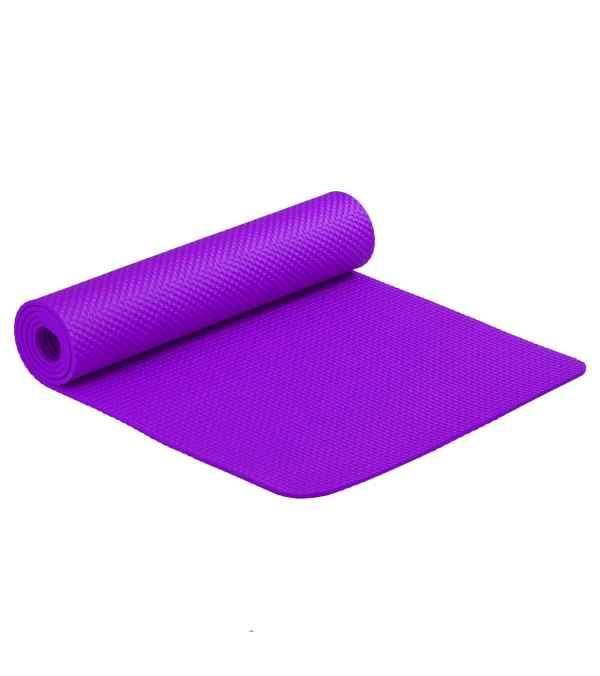 Mat Yoga Pilates Colchoneta De Ejercicio 6 mm Morado
