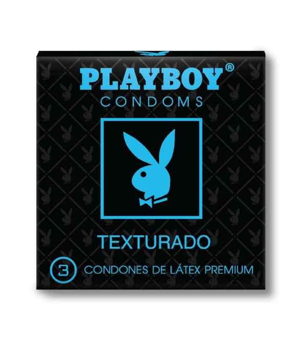 CONDÓN TEXTURADO PLAY BOY
