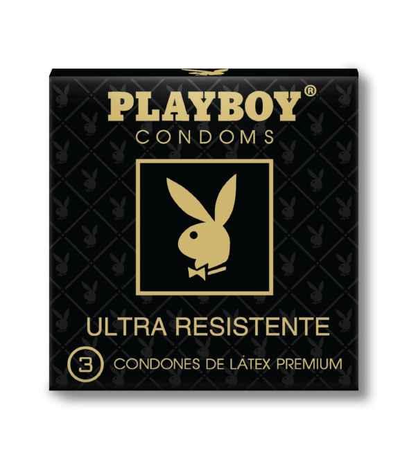 CONDÓN ULTRA RESISTENTE PLAY BOY