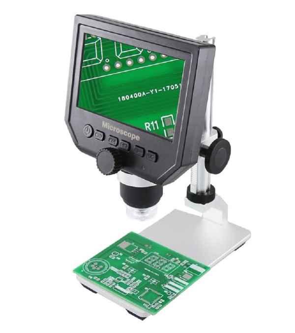 Microscopio Portátil Digital 600x, portátil