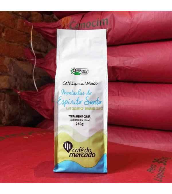 Café Orgánico Montanhas Espirito Santo Molido 250 gramos