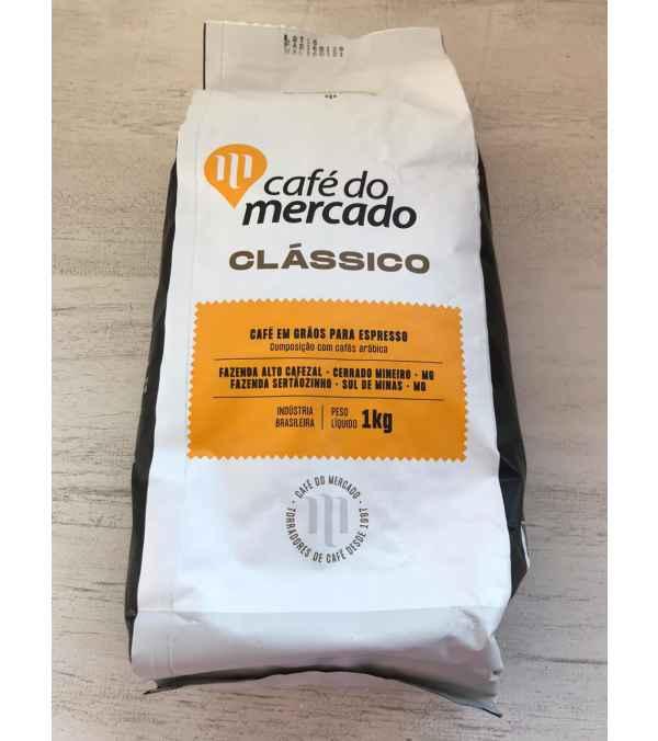 Café para Espresso Classic Do Mercado Grano 1 KILO