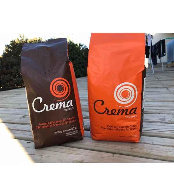 Café para Espresso CREMA, Grano 1 KILO