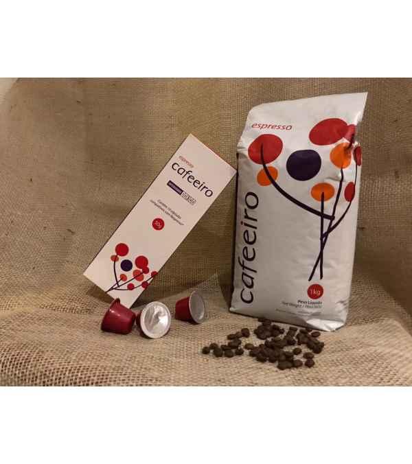 Café para Espresso Cafeeiro (Blend) Grano 1 KILO