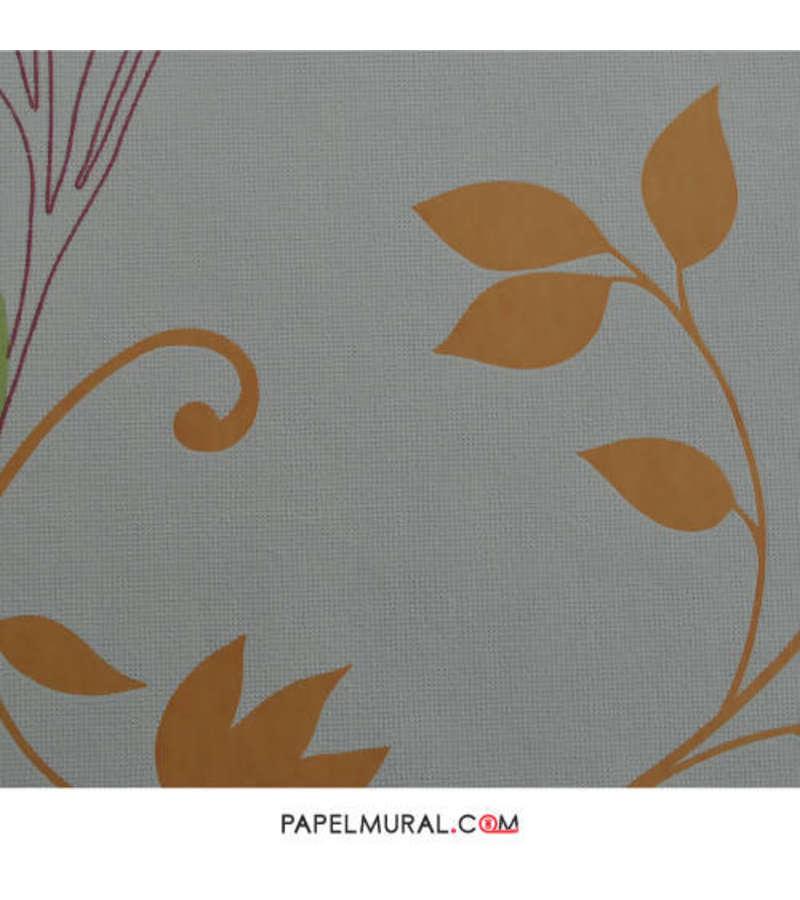 Papel Mural Hoja Naranja | Suprofil Vlies
